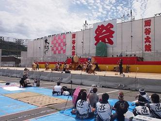 昨年の信州太鼓の祭典
